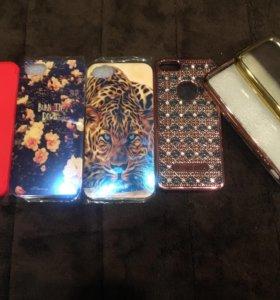 Чехлы для айфонов (4,5,SE)