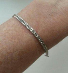 Браслет серебро