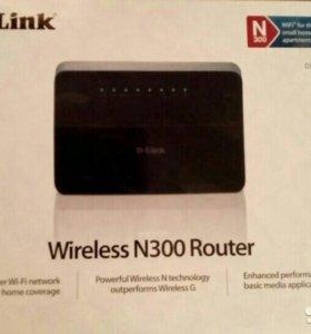 Роутер D-Link. Новый