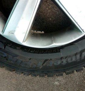 Колеса на литье R15 липучка