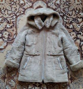 Куртка зимняя вельветовая