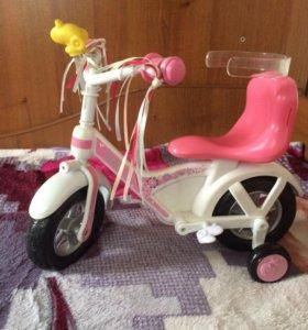 Велосипед для Baby born