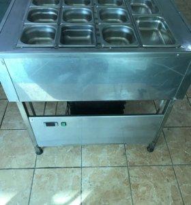 нержавеющий холодильный стол