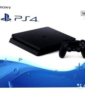 Sony Playstation 4 Slim 500 gb + 3 game new