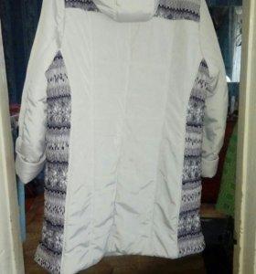 Куртка- пуховик женская большой размер