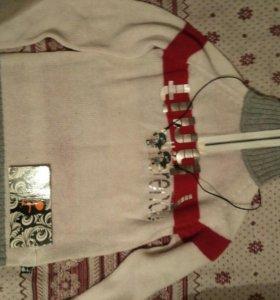 Новый свитер/мальчика 140-146