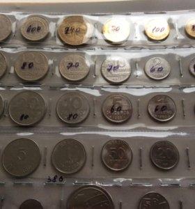 Продам монеты Бразилии