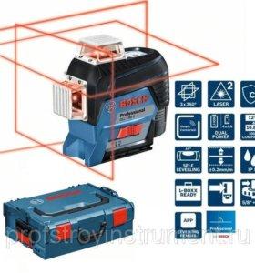 Лазерный нивелир Bosch GLL 3 80C+L-BOXX+BM1