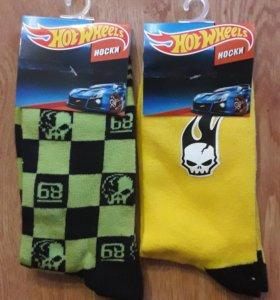 Носки новые hotwheels