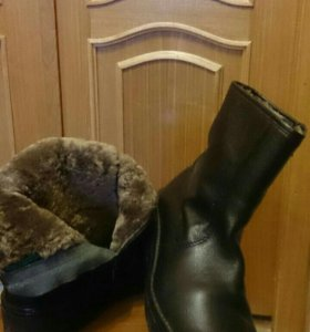 Ботинки зимние мужские новые 46 р burgerchuke