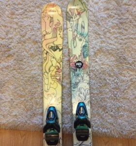 Женские горные лыжи Line