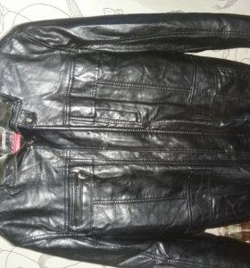 Продам куртку зимнюю кож.зам.