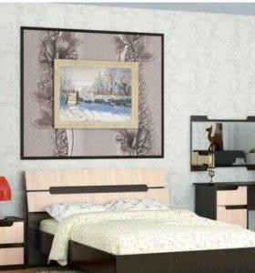 Новая Кровать Гавана 160 венге.В наличии!