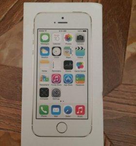 Коробка айфон 5 s