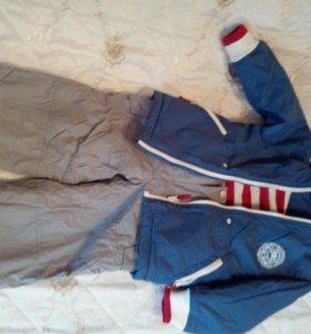 Куртка и штаны на мальчика теплые