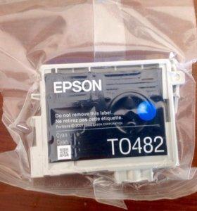 Продам картридж для принтера EPSON, T0482 оригинал