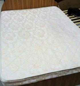 Кровать 1400 на 1900 с матрасом