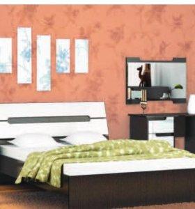 Новая Кровать Гавана 160 акрил.В наличии!