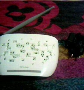 Wi-Fi роутер+ADSL модем