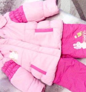 Куртка зимняя и полукомбинезон