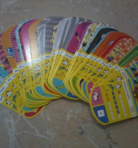"""Карточки из магнита """"Гадкий Я-3"""" Миньоны"""