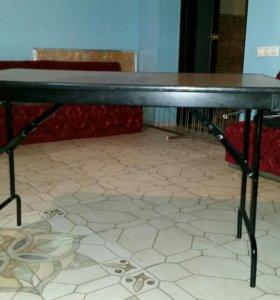 Стол раскладной 1м20/80 см. h 70 см.