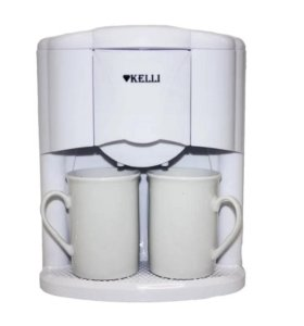 Кофеварка Kelli KL-1491 White