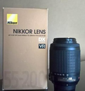 NIKON AF-S 55-200 mm f/4-5.6G IF-ED DX VR Zoom