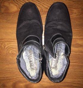 Мужская ботинка зимняя