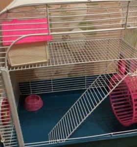 Клетка для хомяков,мышей и крыс