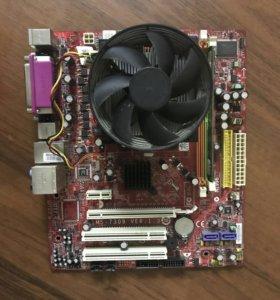 MS-7309 ver 1.3+ процессор AMD 5000+ DDR2 2gb