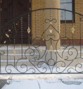 Художественная ковка. Ворота, заборы, лестницы...