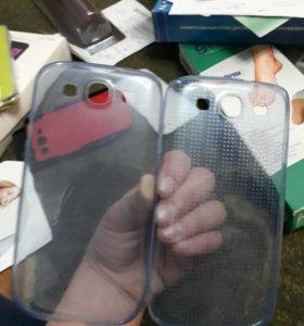 Чехол на Samsund Galaxy S3(силиконовые)