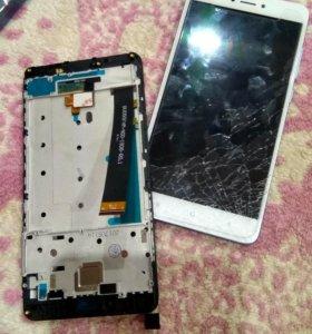 Экран с рамкой RedMi Note 4 helio x20
