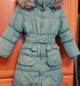 Пальто зимнее рост 116.
