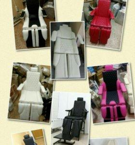Педикюрное кресло косметологическая кушетка, стул