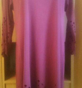 Новое платье 52-54.