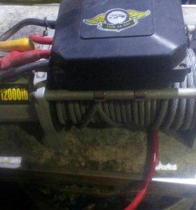 Лебедка электрическая автомобильная 6тонн