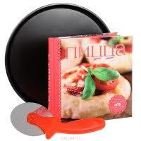 Набор для приготовления пиццы с рецептами