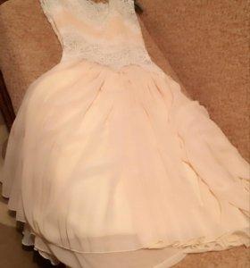 Платье кремового цвета Eleni Viare