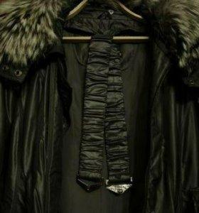 Пальто зимнее б/у в хорошем состоянии