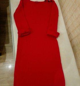 Новое платье кашемир шерсть