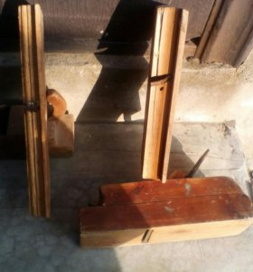 Рубанки и прочий столярный инструмент набором