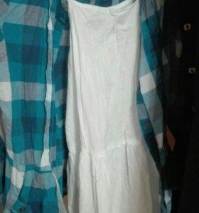 Платье с рубашкой