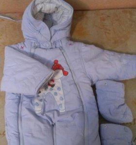 Детский комбинезон зимний срочно