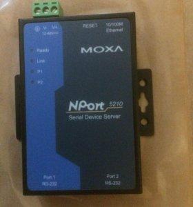 Преобразователь MOXA NPort 5210