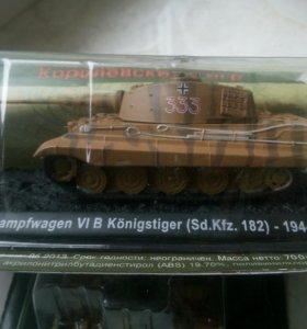Королевский тигр танк