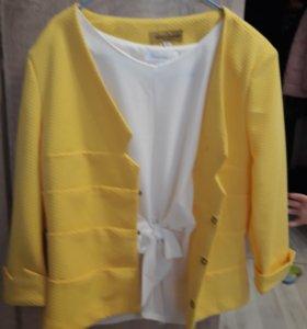 Жакет + блуза