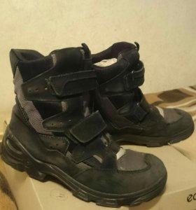 Ботинки подростковые ECCO 40 размер