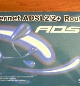 Модем маршрутизатор Ethernet adsl2/2+ Riuter